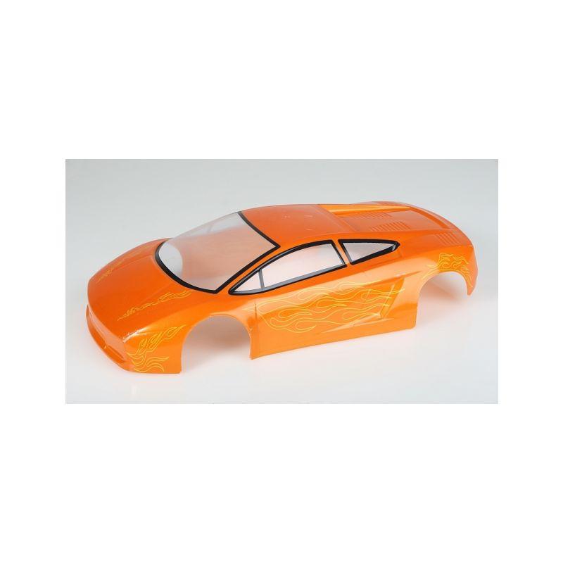 Karosérie lakovaná Himoto 1:10 Lamborghini (Oranžová) - 1