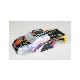 Karosérie lakovaná Himoto Truck 1:10 (černo-oranžová) - 1