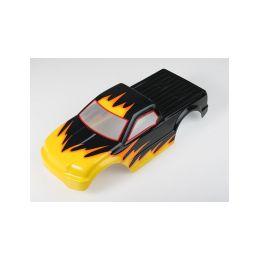 Karosérie lakovaná Himoto Truck 1:10 (černo-žlutá) - 1