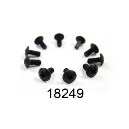 2,6x6mm šroub s kulatou hlavou, 10 ks. - 1