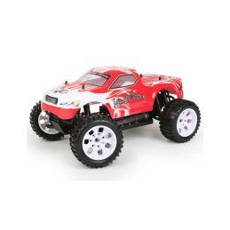 HiMOTO Monster Truck EMXT-1 1:10 elektro RTR set 2,4GHz červená - 1