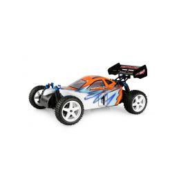HIMOTO buggy Z-3 1:10 elektro RTR set 2,4GHz modrá - 1