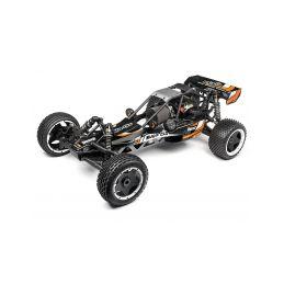 Baja 5B 2,0 Buggy RTR s 2,4GHz RC soupravou, kar. černá se systémem DBOX2 - 1