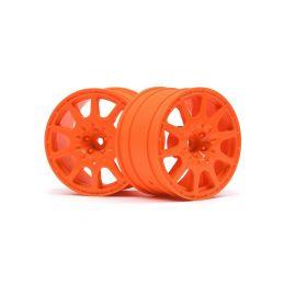 WR8 disky šíře 35 mm (2 ks) - oranžové - 1
