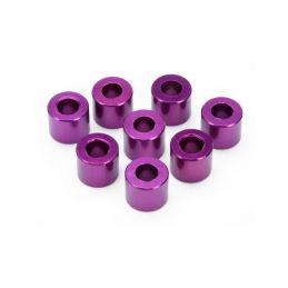 Vymezovací podložka 4X8X6.5mm, (fialová/8ks.) - 1