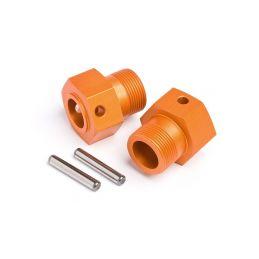 Unašeč kola ALU 24x27mm (oranžová/2ks) - 1
