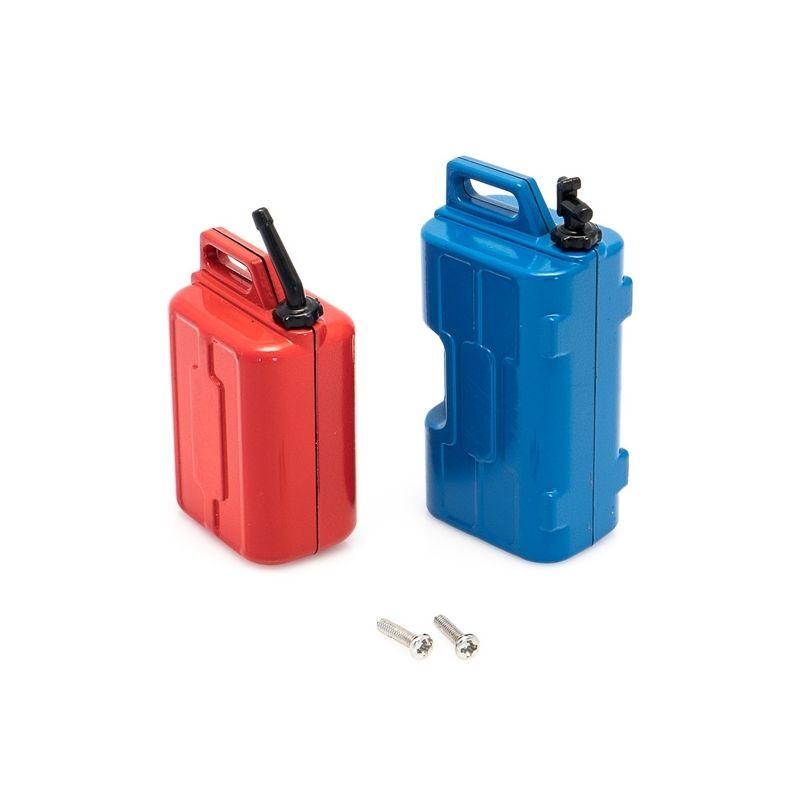 Sada kanistrů (voda a benzín) včetně držáků - 1