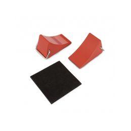 Klíny pod kola, červené (2 ks.) - 1