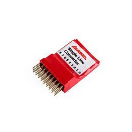 Multiplexer/Bezdrátové rozhraní pro RC simulátory - 1