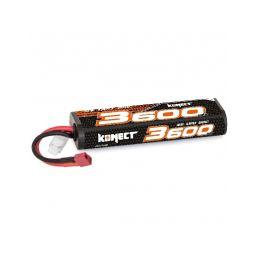 KONECT LiPo 3600mah 7.4V 30C 2S1P 26,6Wh (T-Dean ) - 1