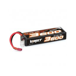 KONECT LiPo 3600mah 11.1V 30C 3S1P 39,0Wh (T-Dean ) - 1