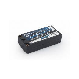 ANTIX by LRP 4200 Shorty - 7.6V LiHV - 45C LiPo Car Hardcase - 1