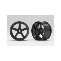 Racing Performer Driftovací disky 5 paprsků 01 (6mm Offset/Černé/2ks) - 1