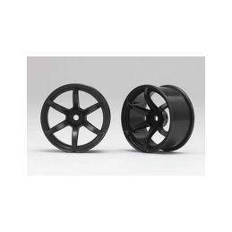 Racing Performer Driftovací disky 6 paprsků 02 (6mm Offset/Černé/2ks) - 1