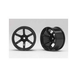 Racing Performer Driftovací disky 6 paprsků 02 (8mm Offset/Černé/2ks) - 1