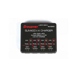 USB nabíječka SLIM 400x4 1S LiPo 4,2V 400mA - 1