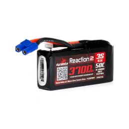 Dynamite LiPo Reaction2 11.1V 3700mAh 50C 96mm EC3 - 1