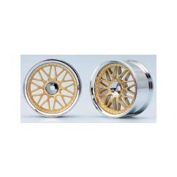 10-paprskové disky (Zlaté) - 1