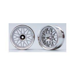 10-paprskové disky (Matně stříbrná) - 1