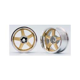 RAYS VOLK RACING GT-C (Zlatá) Off-set 12mm - 1