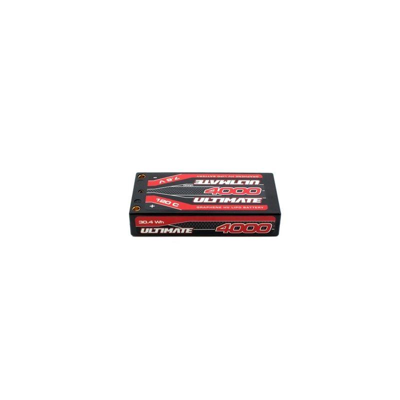 ULTIMATE GRAPHENE HV LiPo Hardcase 4000mAh 7.6V 120C G5 - 1