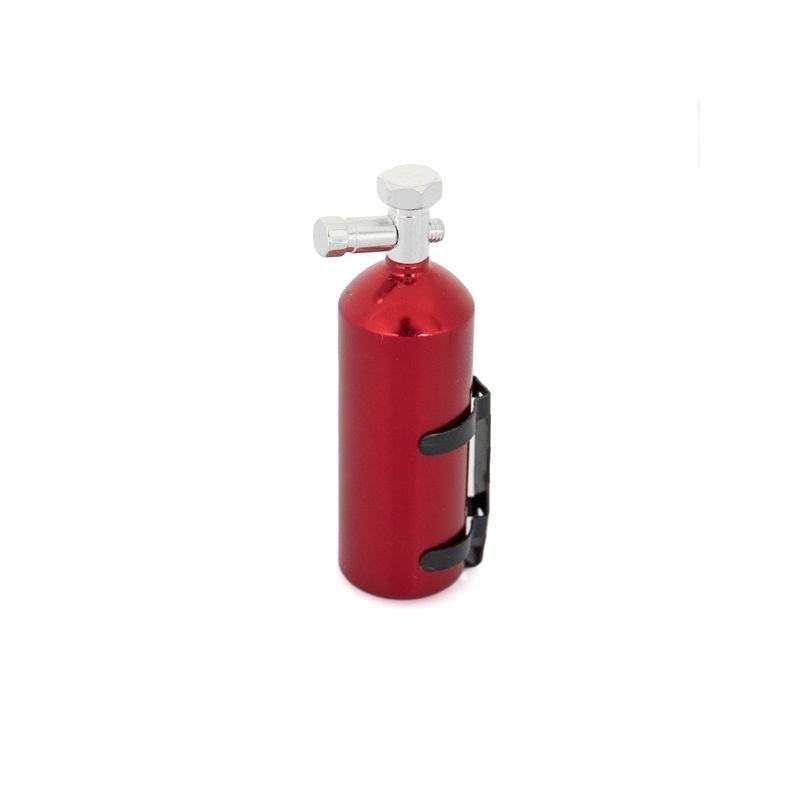 Stříbrná tlaková nádrž NOS s Nitro oxyd plynem, 23 gr. - 1