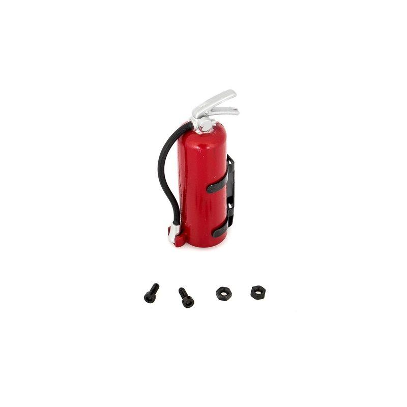 Červený hasící přístroj včetně držáku - 1
