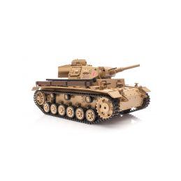 RC tank 1:16 Tauch PANZER III Ausf. H kouř. a zvuk. efekty - 1