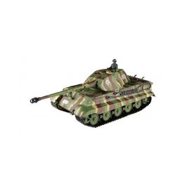 RC tank 1:16 German King Tiger (věž Porsche) kouř. a zvuk. efekty - 1