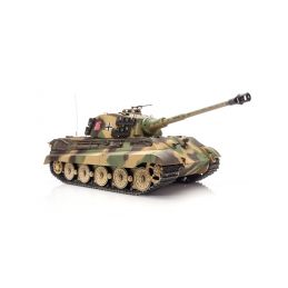 RC tank 1:16 German King Tiger (věž Henschel) kouř. a zvuk. efekty - 1