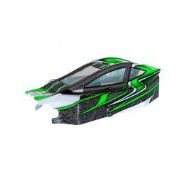 BX8SL RUNNER Bitty design zelená lexanová karoserie - 1