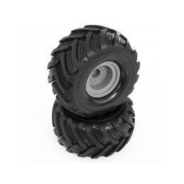 Přední nalepené gumy včetně disků FURIO - 1