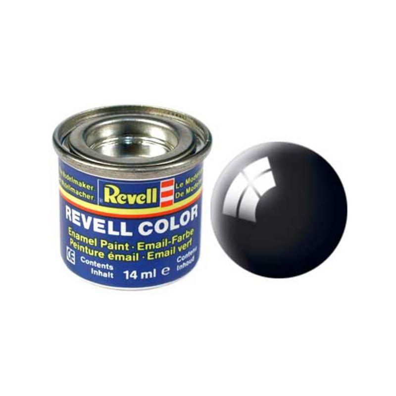Revell emailová barva #7 černá lesklá 14ml - 1