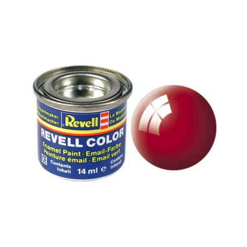 Revell emailová barva #31 ohnivě rudá lesklá 14ml - 1