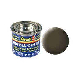 Revell emailová barva #40 černozelená matná 14ml - 1