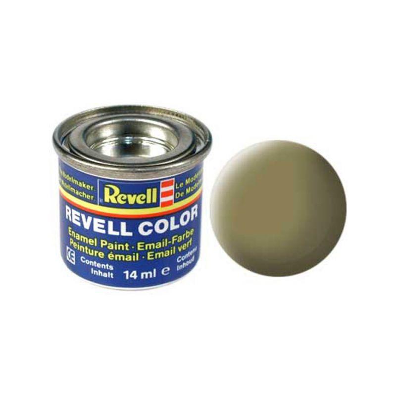 Revell emailová barva #42 olivově žlutá matná 14ml - 1