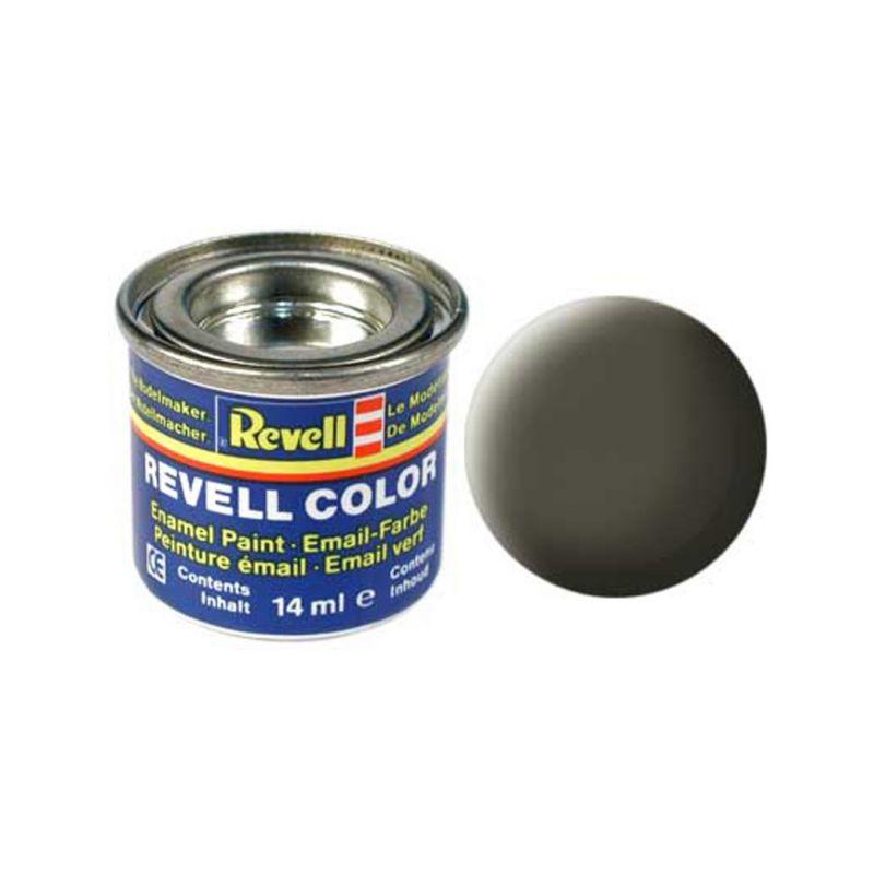 Revell emailová barva #46 olivová NATO matná 14ml - 1