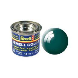 Revell emailová barva #62 zelenomodrá lesklá 14ml - 1