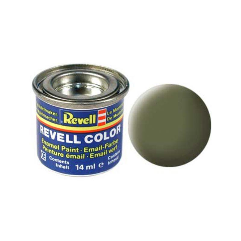 Revell emailová barva #68 tmavě zelená matná 14ml - 1