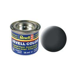 Revell emailová barva #77 prachově šedá matná 14ml - 1