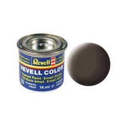 Revell emailová barva #84 koženě hnědá matná 14ml - 1