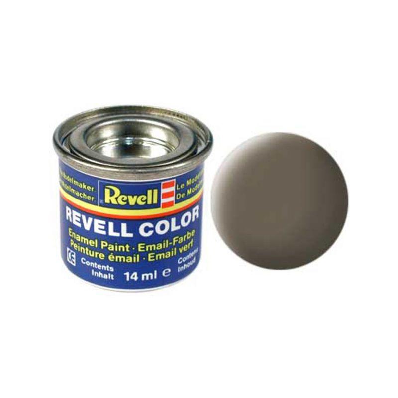 Revell emailová barva #86 olivově hnědá matná 14ml - 1