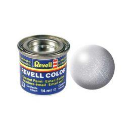 Revell emailová barva #90 stříbrná metalická 14ml - 1