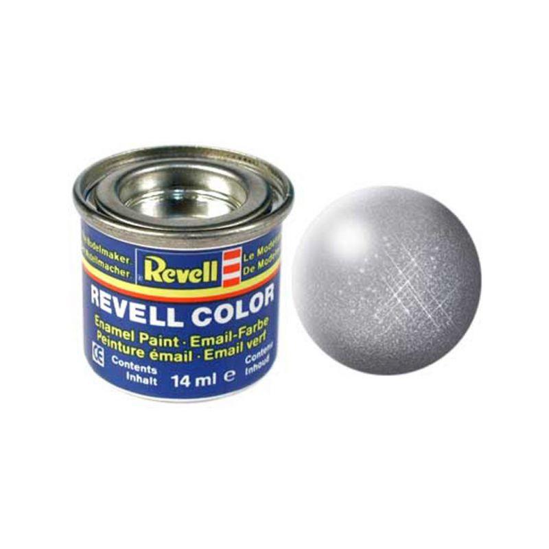 Revell emailová barva #91 ocelová metalická 14ml - 1