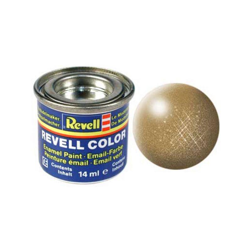 Revell emailová barva #92 mosazná metalická 14ml - 1