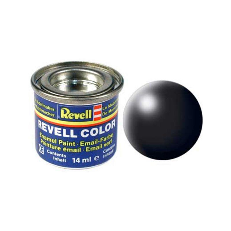 Revell emailová barva #302 černá polomatná 14ml - 1