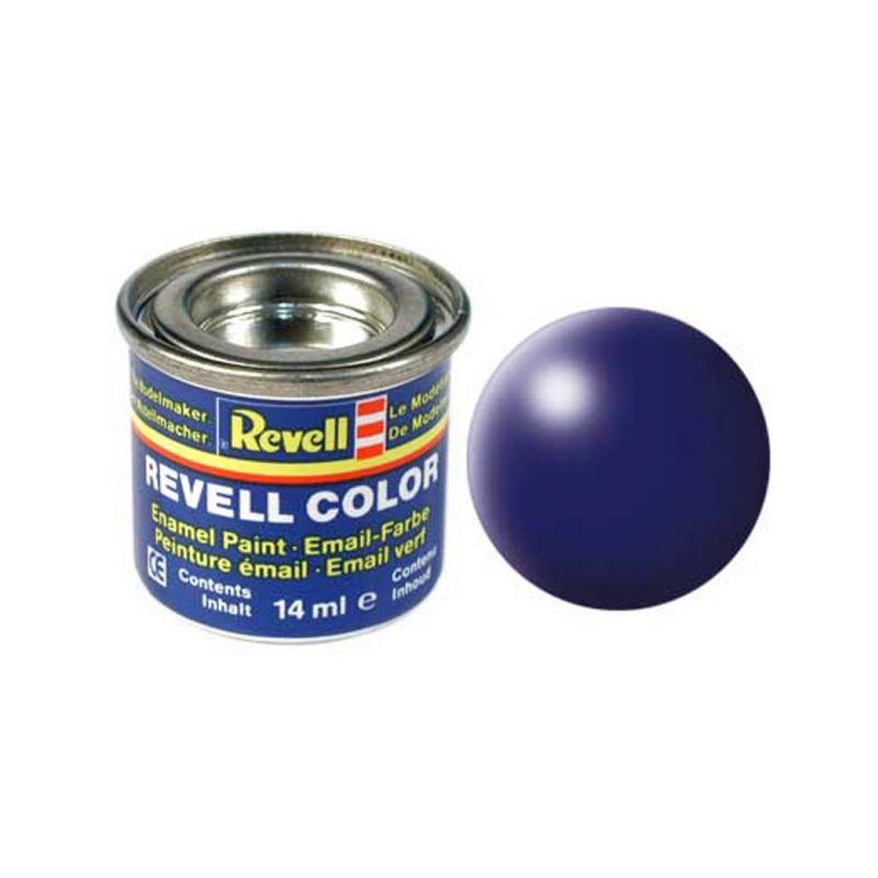 Revell emailová barva #350 tmavě modrá polomatná 14ml - 1