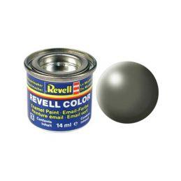Revell emailová barva #362 šedavě zelená polomatná 14ml - 1