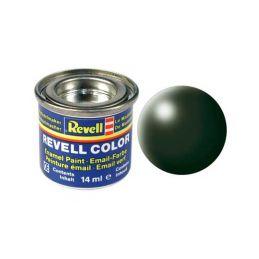 Revell emailová barva #363 tmavě zelená polomatná 14ml - 1