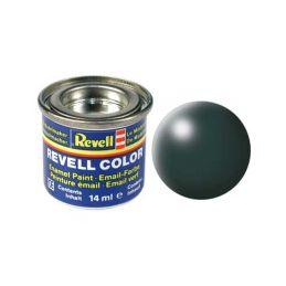 Revell emailová barva #365 zelená patina polomatná 14ml - 1